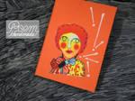 Handmade Sketchbook - Orange