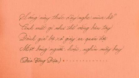 My Handwriting - Dao Cong Dien