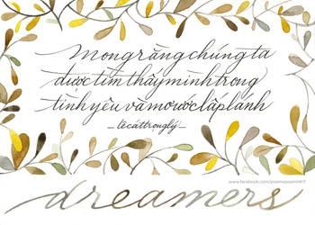 LCTL Dreamers (2) by Poemhaiku