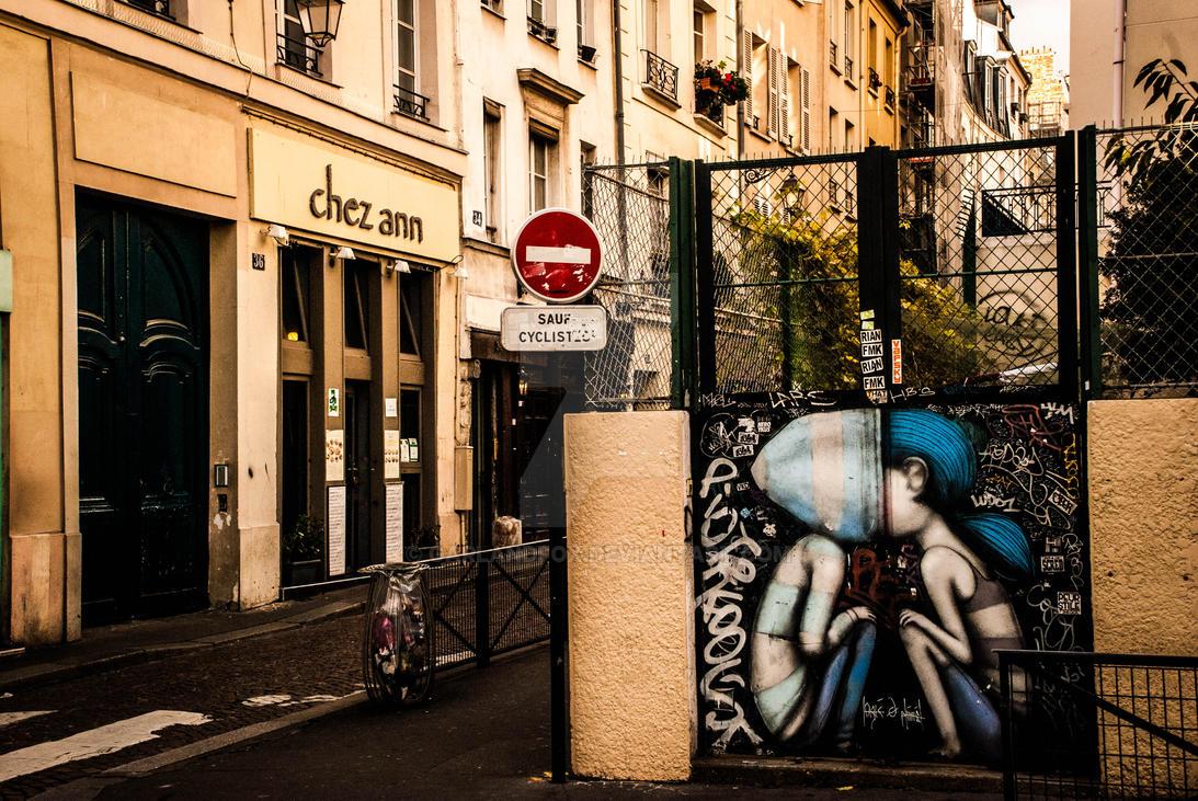 Street Art on Still Street by garlandfox