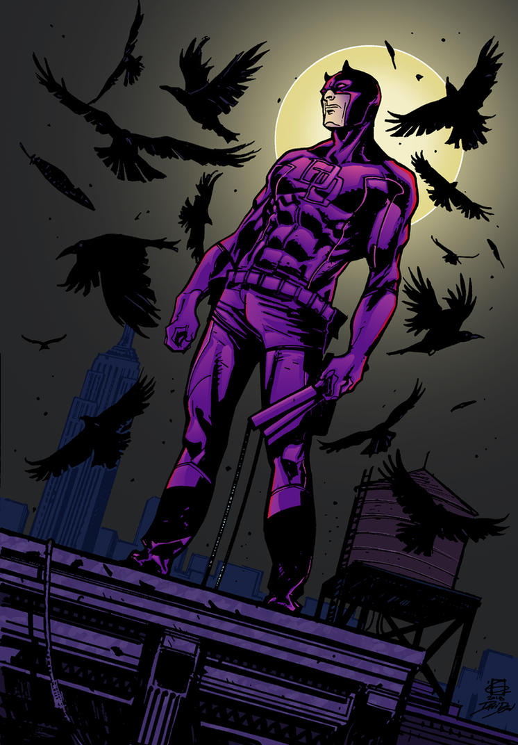 Rooftop Daredevil by FilMFlaM