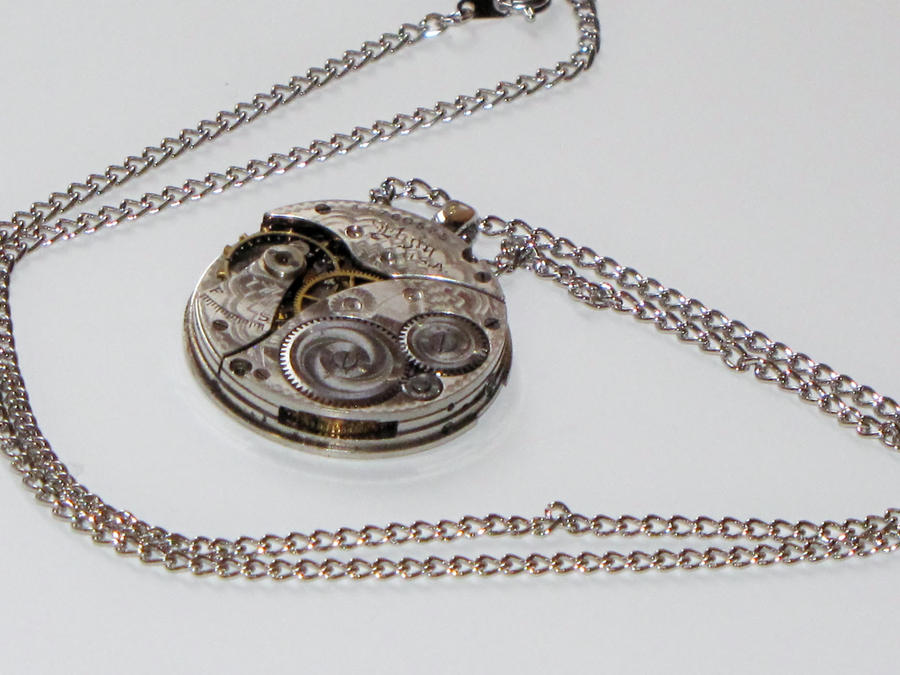 clockwork of bones city pendantnecklace antique mortal grande instruments angel products infernal devices necklace silver