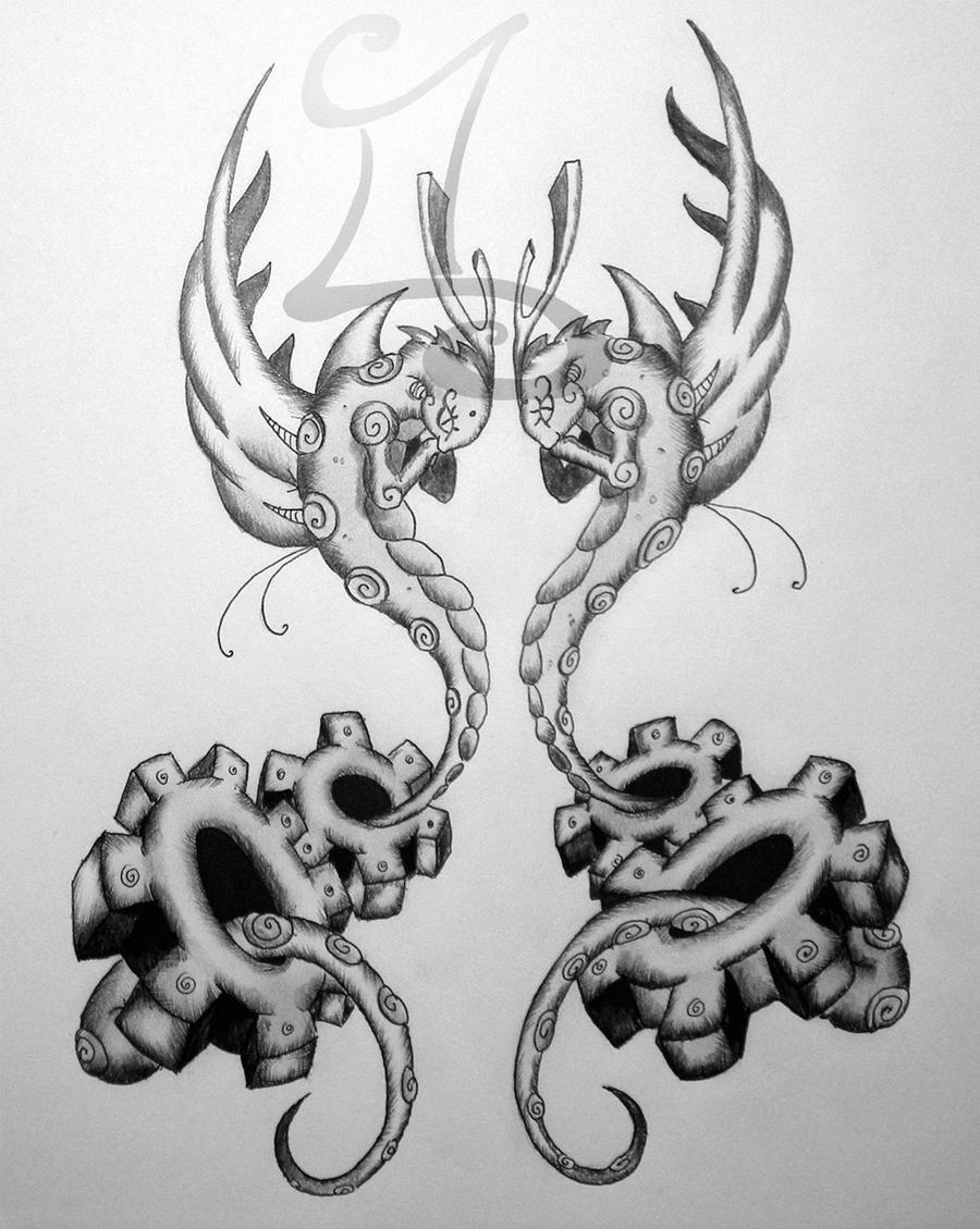 Zodiac: Gemini by Esoteric-Art on DeviantArt