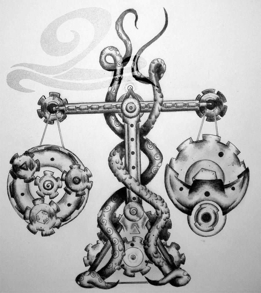 Zodiac: Libra by Esoteric-Art