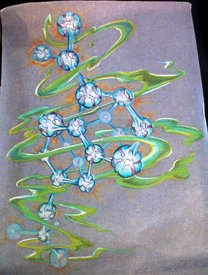 Esoteric Wallpaper: Molekewls By Esoteric-Art On DeviantArt