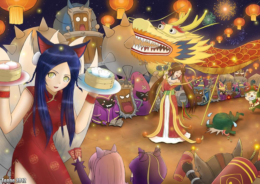 League of Legends - Lunar Revel Contest Entry by tonnelee