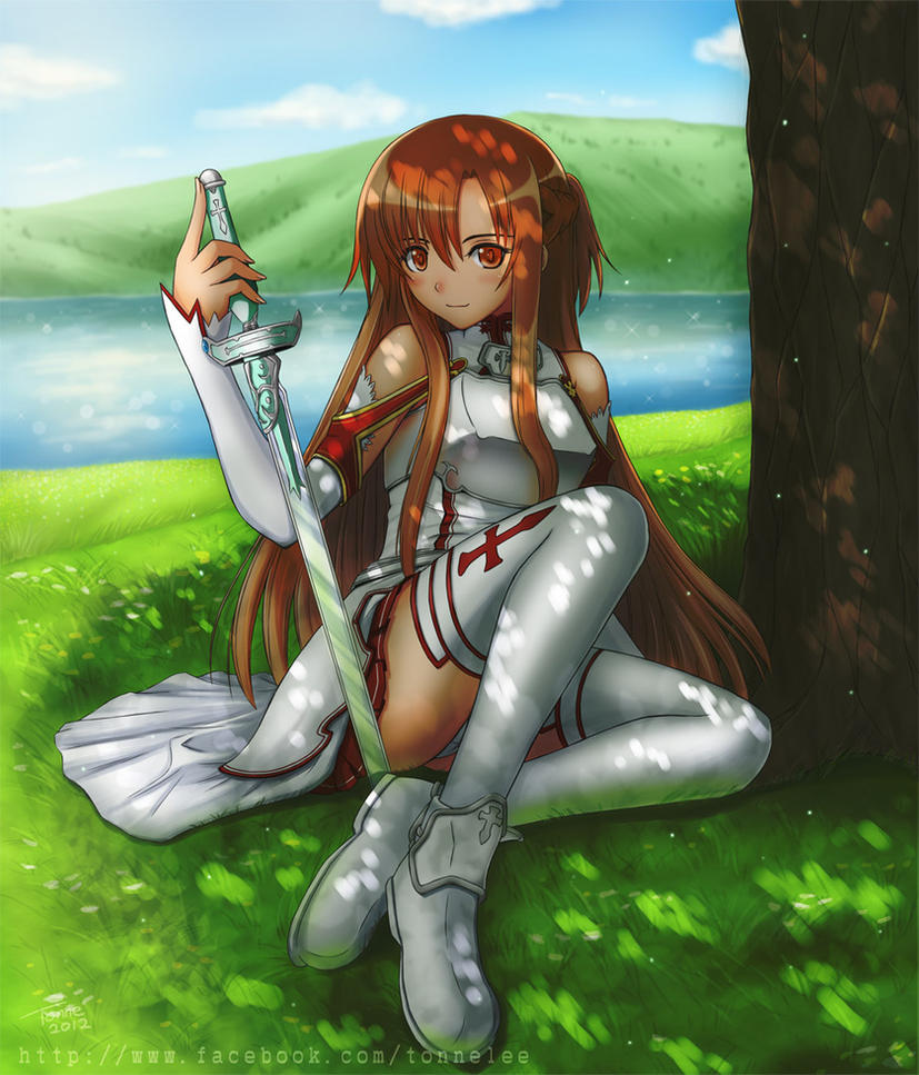SAO - Asuna by tonnelee