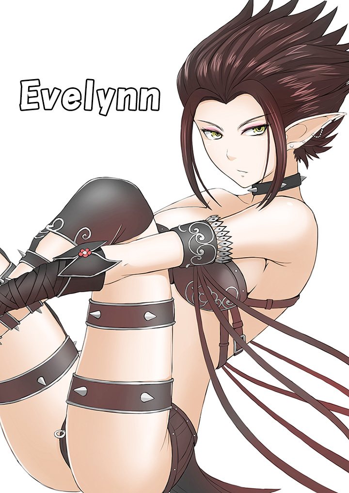 LOL Roulette 08 - Evelynn by tonnelee