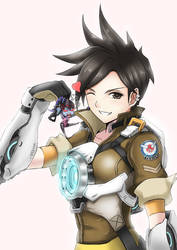 Overwatch - Tracer by tonnelee