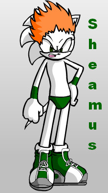 Sheamus Sonic Style by sonamy-666