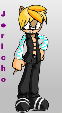 Chris Jericho Sonic Style by sonamy-666