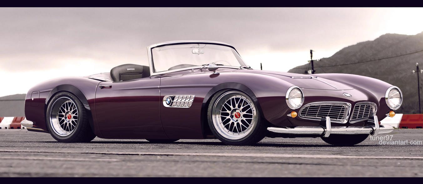 Bmw 507 By Tuner97 On Deviantart