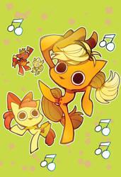 apple dance! by memoneo