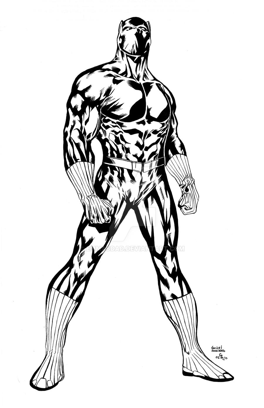 marvel black panther coloring pages virtren com