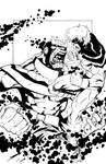 Thanos Vs. Captain Mar-Vell