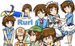 Ruri Tenpouin by LittleSpringroll