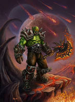 Warcraft Orc by JoeDomani