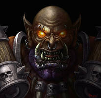 Garrosh - Warcraft by JoeDomani