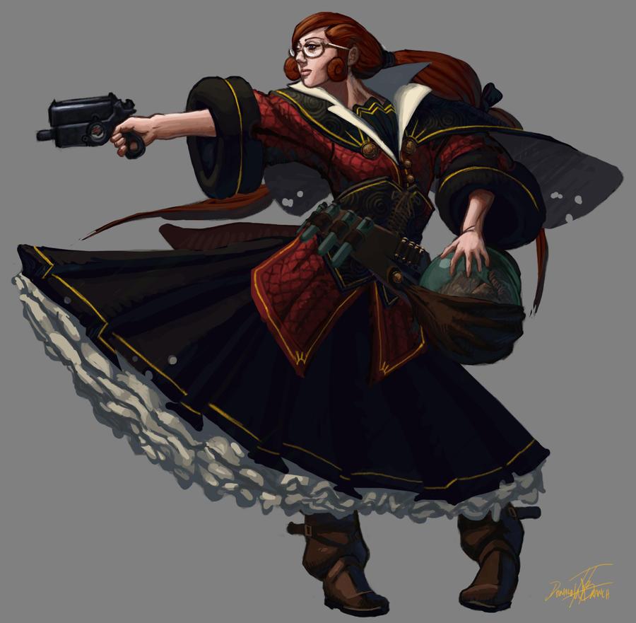 The Alchemist - Ruth by Dash-X