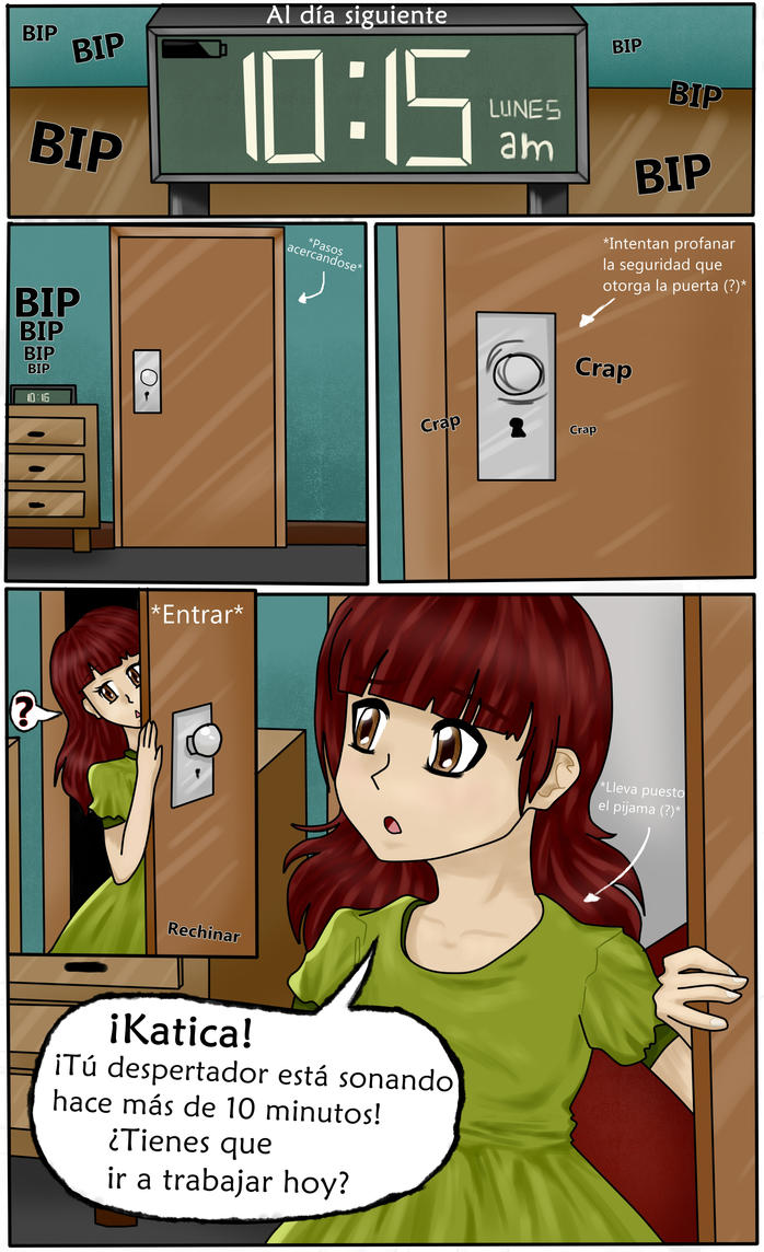 KATICA: Capitulo 1: Pagina 3 by TheTimeLimit