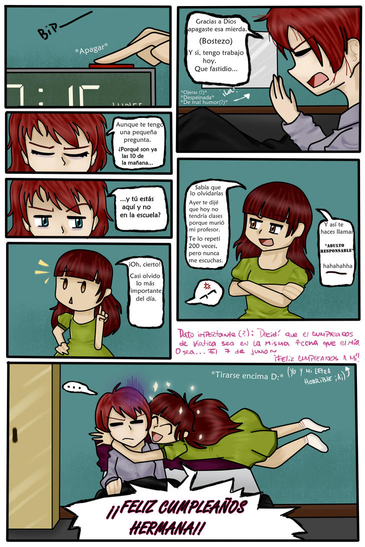 KATICA: Capitulo 1: Pagina 4 by TheTimeLimit