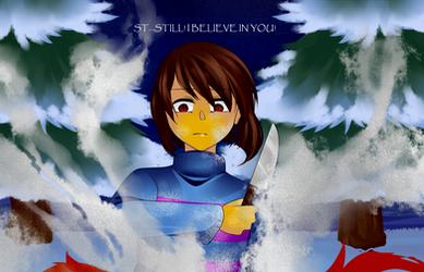 [Fanart] Undertale: STILL! I BELIEVE IN YOU! by TheTimeLimit
