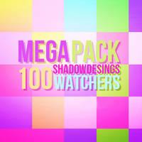 +PACK100WATCHERS by shadowdesings