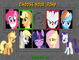 MLP: FiM - Mortal Pony Kombat by SonictheHedgehogPL