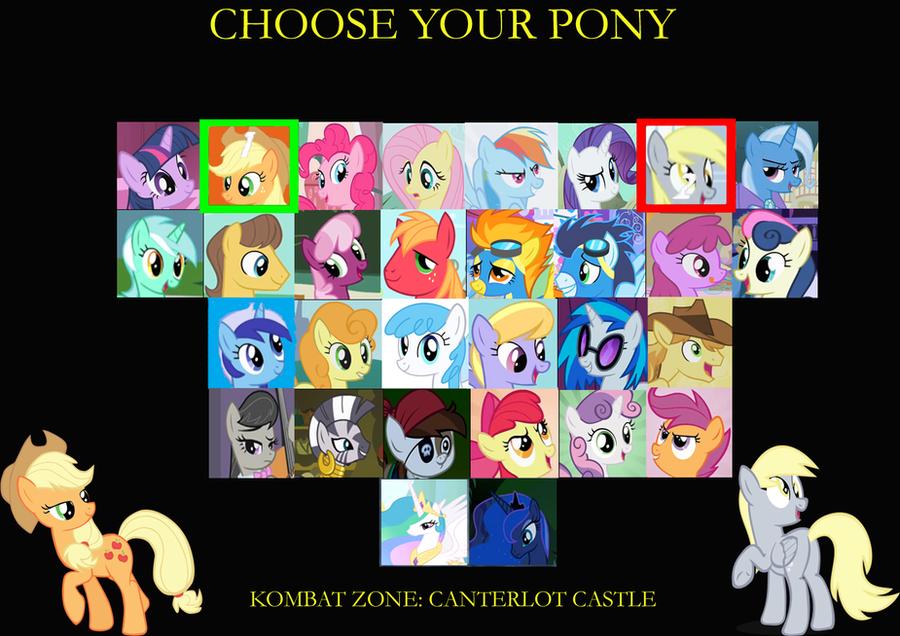 MLP: FiM - Mortal Pony Kombat Trilogy by SonictheHedgehogPL