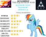 Ace Combat: The Equestrian War - Rainbow Dash