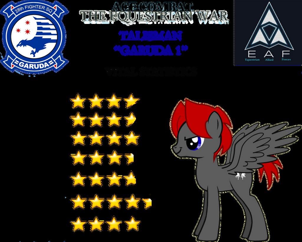 Ace Combat The Equestrian War Talisman By