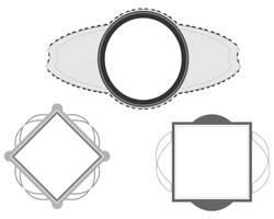 Digital frames borders pack by Pixelflakes