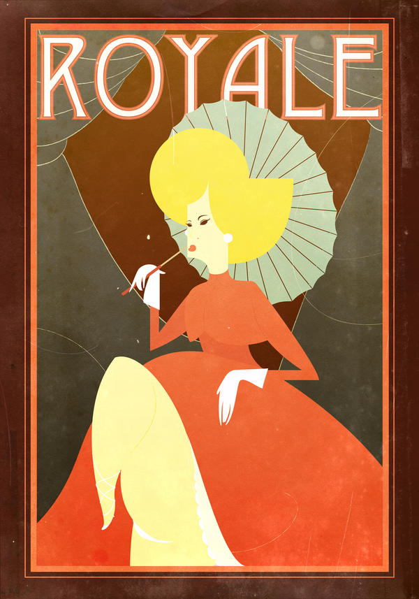 Retro French Poster By Pixelflakes On Deviantart