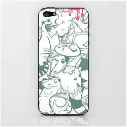 sticker art pile-up phone case 2 by Pixelflakes