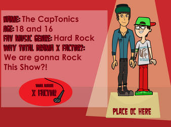 Total Drama X Factor Jules and Theodore by TDFanFrench