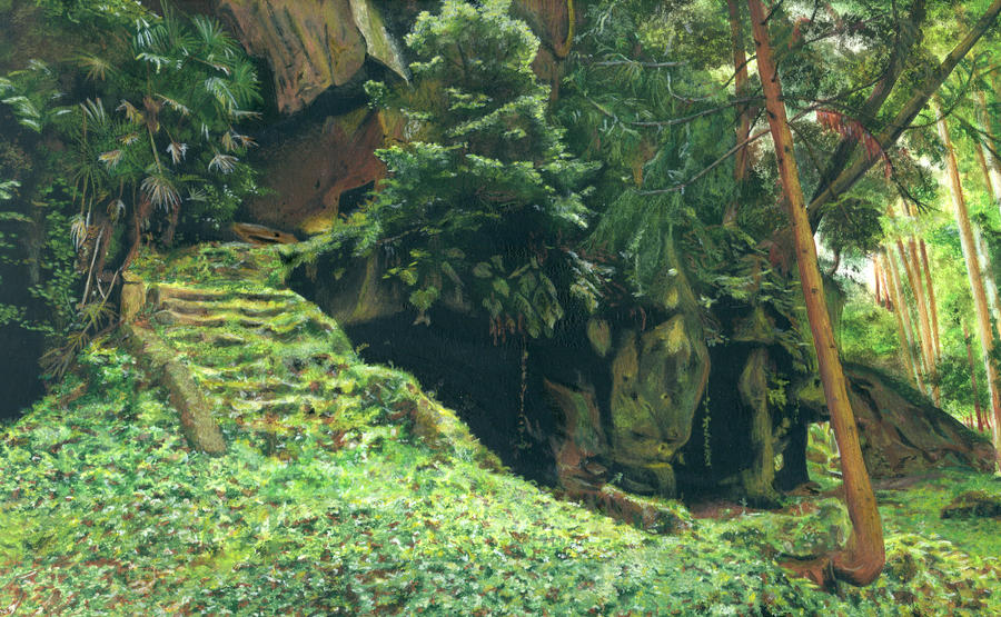 Hideout in the forest by evanyia on deviantart - The hideout in the woods an artists dream ...