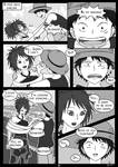 OP-doujin: The first time they met - page21