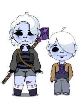 crystal and hunter