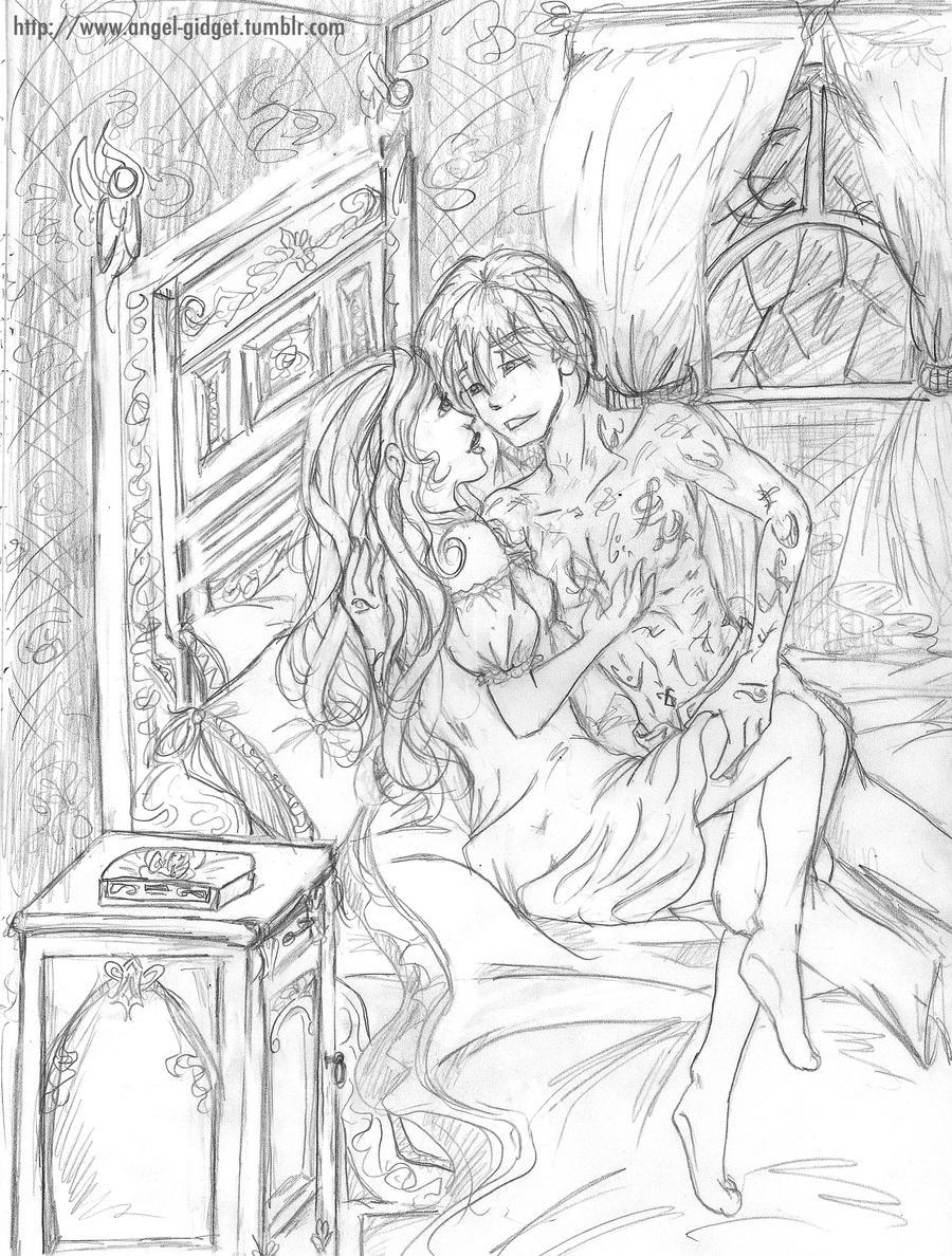 ID: Fierce Midnight sketchery by angel-gidget