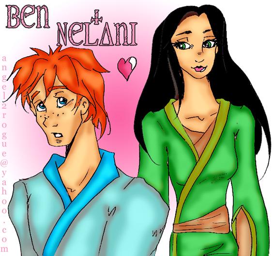 Ben + Nelani by angel-gidget