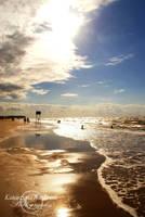Golden beach by 0802Gwiazdeczka