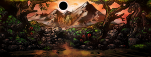 Red Mountain.entrance Room Wall Darkest Dungeon