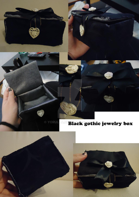 Black Gothic Jewelry Box by Yorulla on DeviantArt