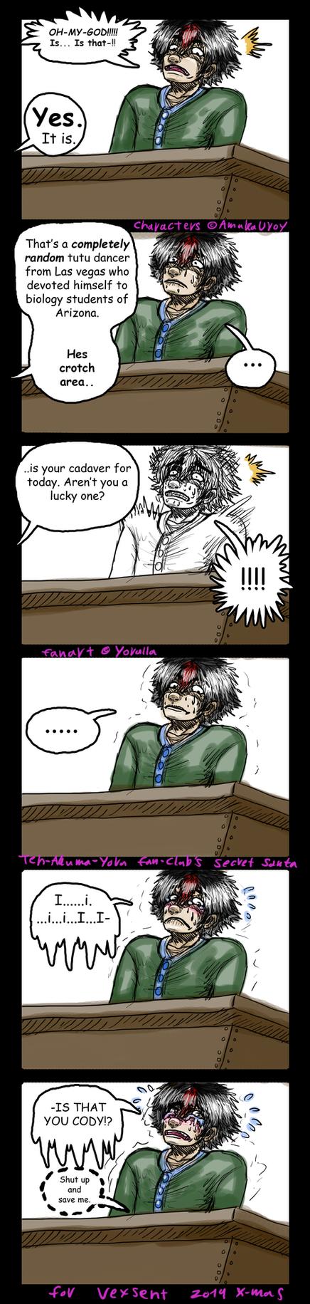 Secret Santa for Vexsent by Yorulla
