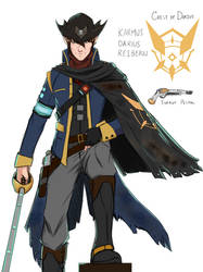 Cosmic Corsair: Captain Reibern