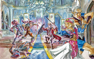 Zeldas Flight by DagronRat