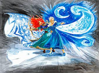 Winter Battle by DagronRat