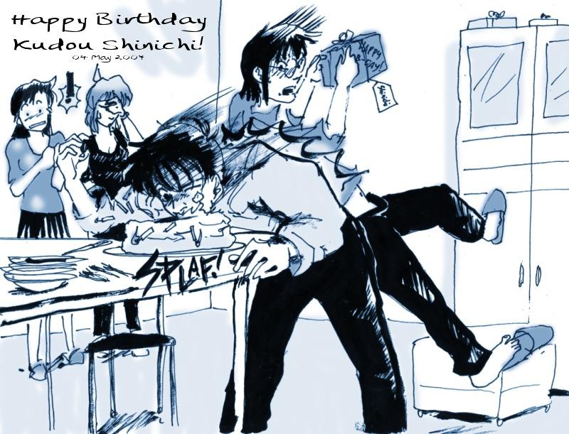 Shinichi Kudo Birthday 2007 By Dagronrat On Deviantart