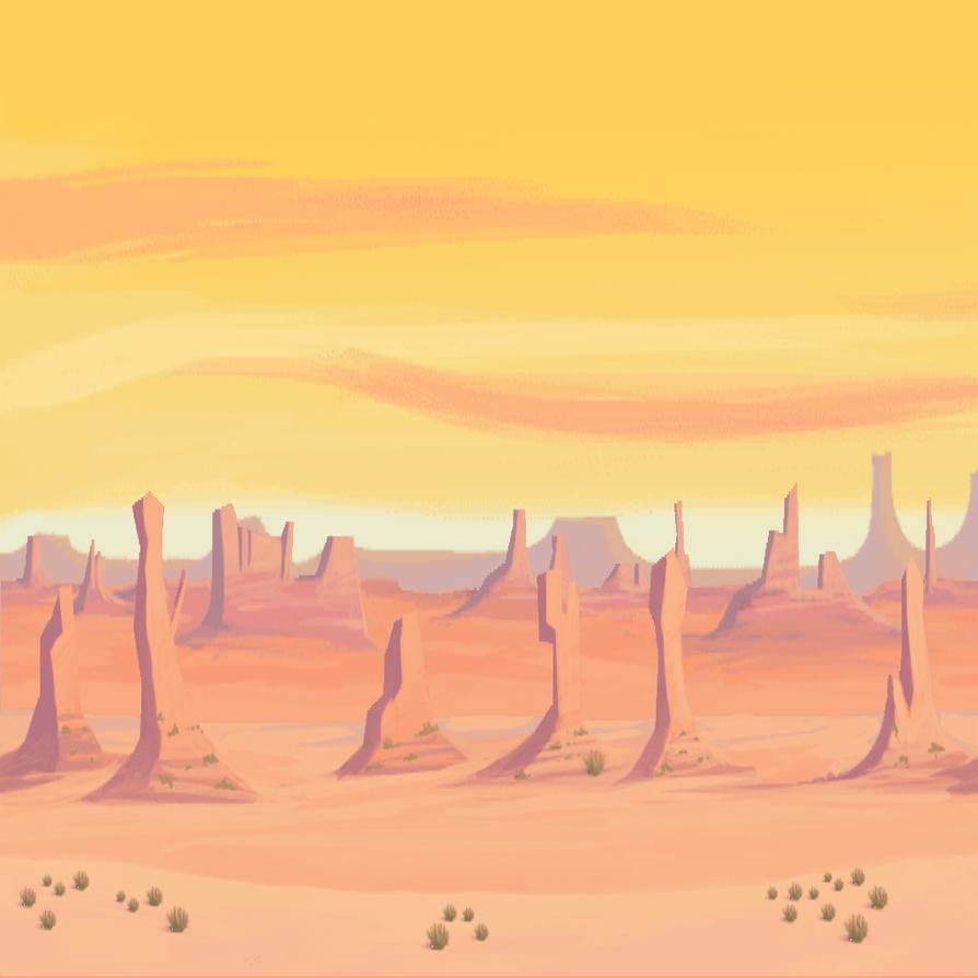 Simple Desert Background By PlunderPixels On DeviantART