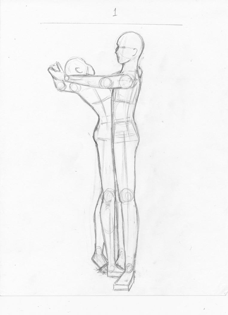 Dancing Couple Rough Sketch By Conyay On Deviantart